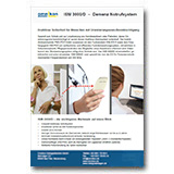 Dementenschutz-Notrufsystem ISM 3000/D